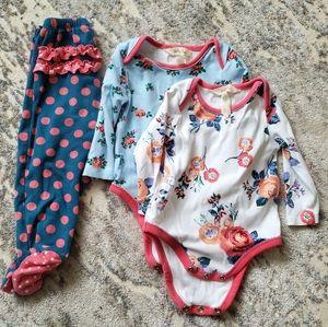 Matilda Jane Baby Onesie Pants Set 6-12 months